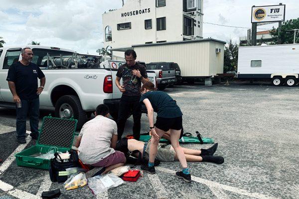 The Medina Aquarius Program offers Diver Medic Technician course