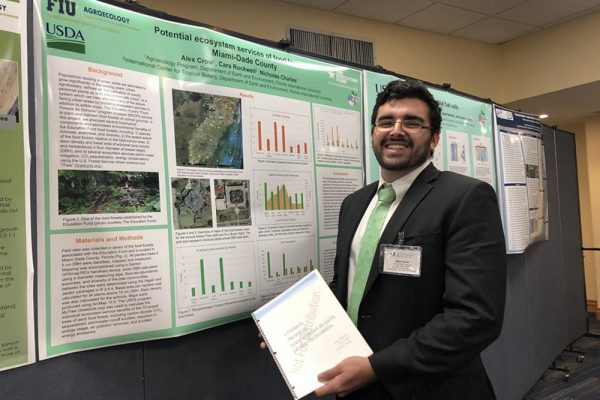 Agroecology student faces new challenge