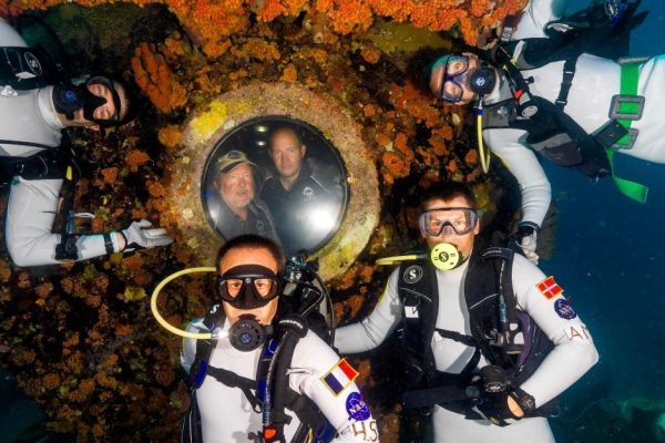 Aquanaut Hervé Stevenin – from Aquarius to Gateway