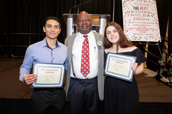 Students awarded Dr. E. George Simms Scholarship