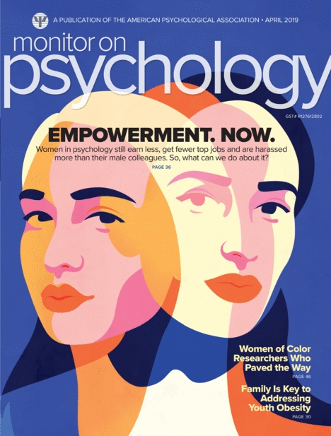 Cover of Monitor on Psychology April Issue