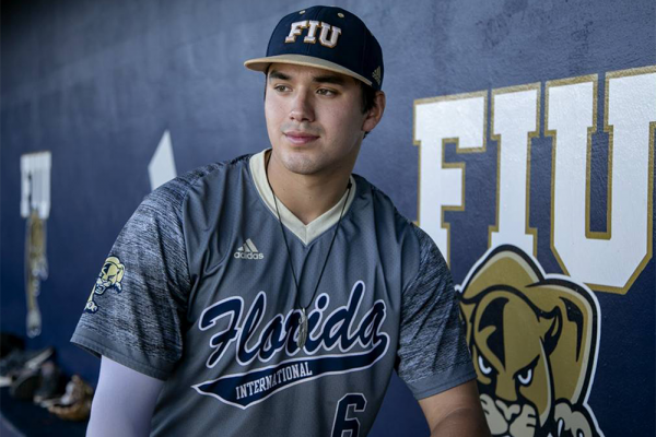 FIU Baseball's Austin Shenton drafted in fifth round
