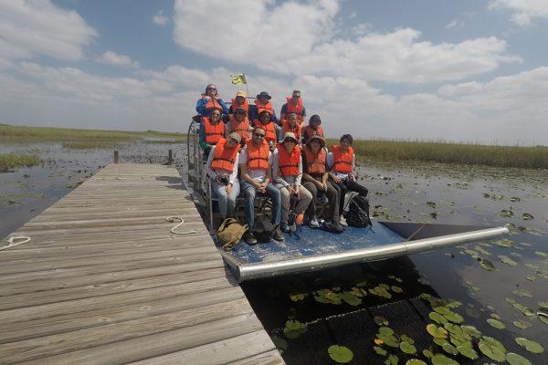 First Coastal Ecosystems REU summer cohort graduates