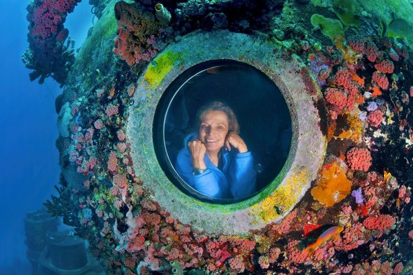 Meet Sylvia Earle, a lifelong oceanographer