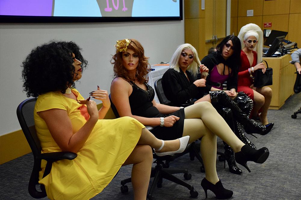Drag queen panelists