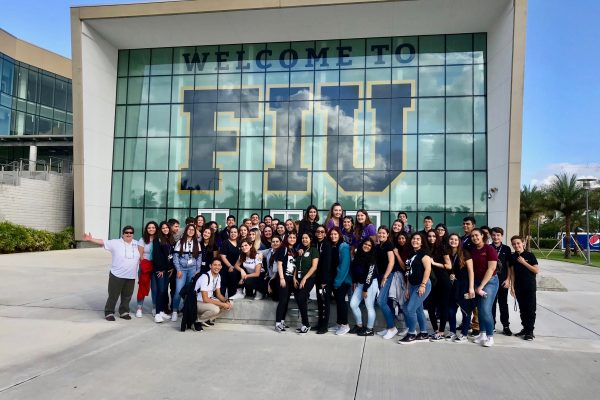 STEM Education Academy students kickstart program with visit to FIU