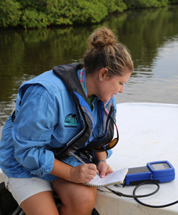Julie measuring data