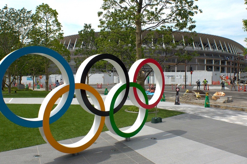tokyo olympic sign