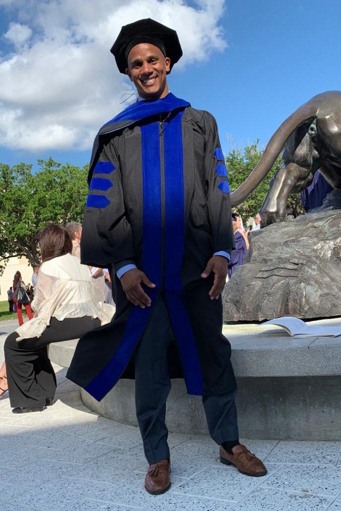 Alan at graduation