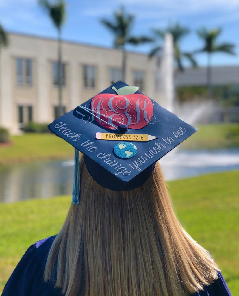 Ashley's grad cap