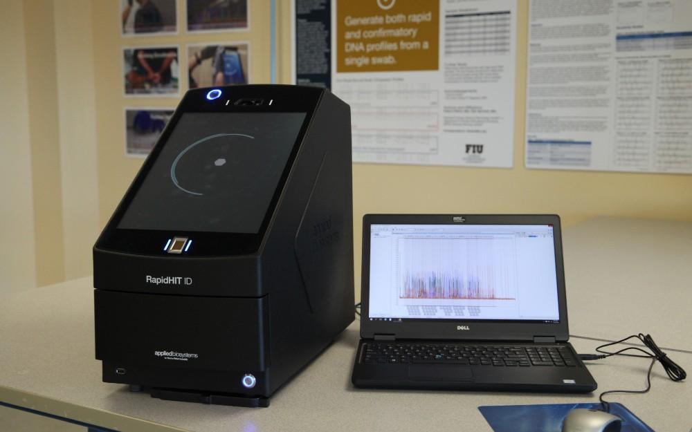 Rapid DNA equipment