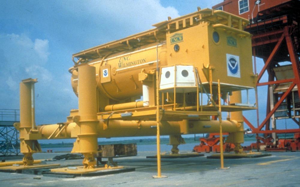 Aquarius post-refurbishment at the State Ports in Wilmington, North Carolina