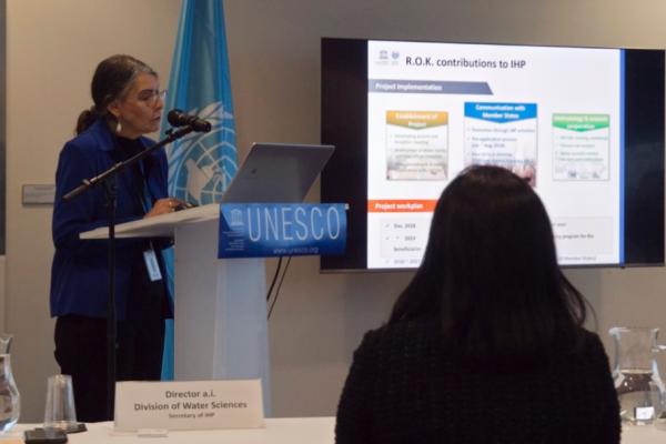 Dr. Donoso leads UNESCO Division of Water Sciences in Paris