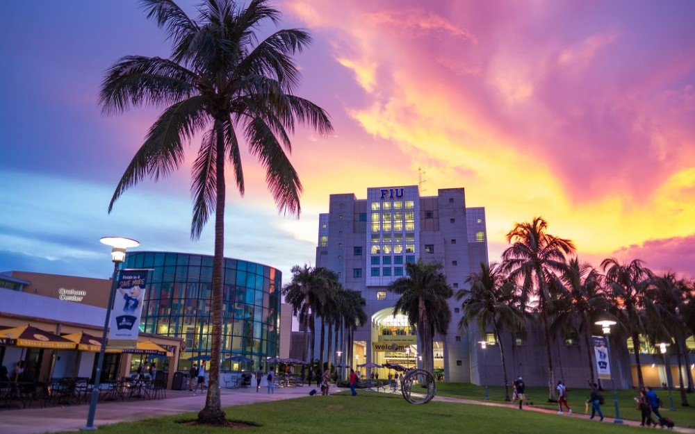 FIU library and GC view