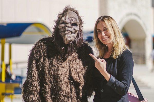 Mireya Mayor joins skilled team in search of Bigfoot