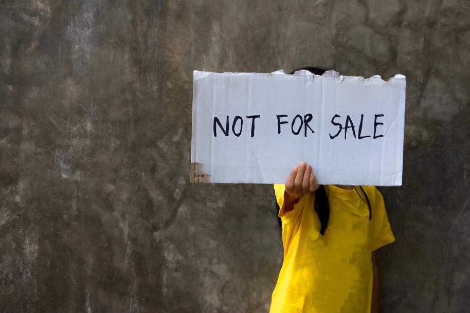 not for sale human trafficking