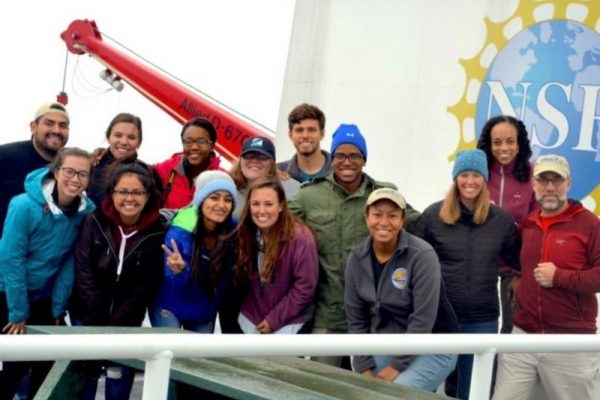 Sail aboard a vessel with fellow STEM students