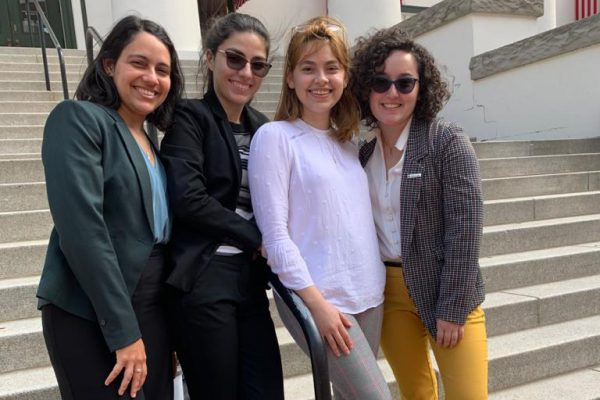 Students mentored by biomolecular faculty present at Posters-at-the-Capitol