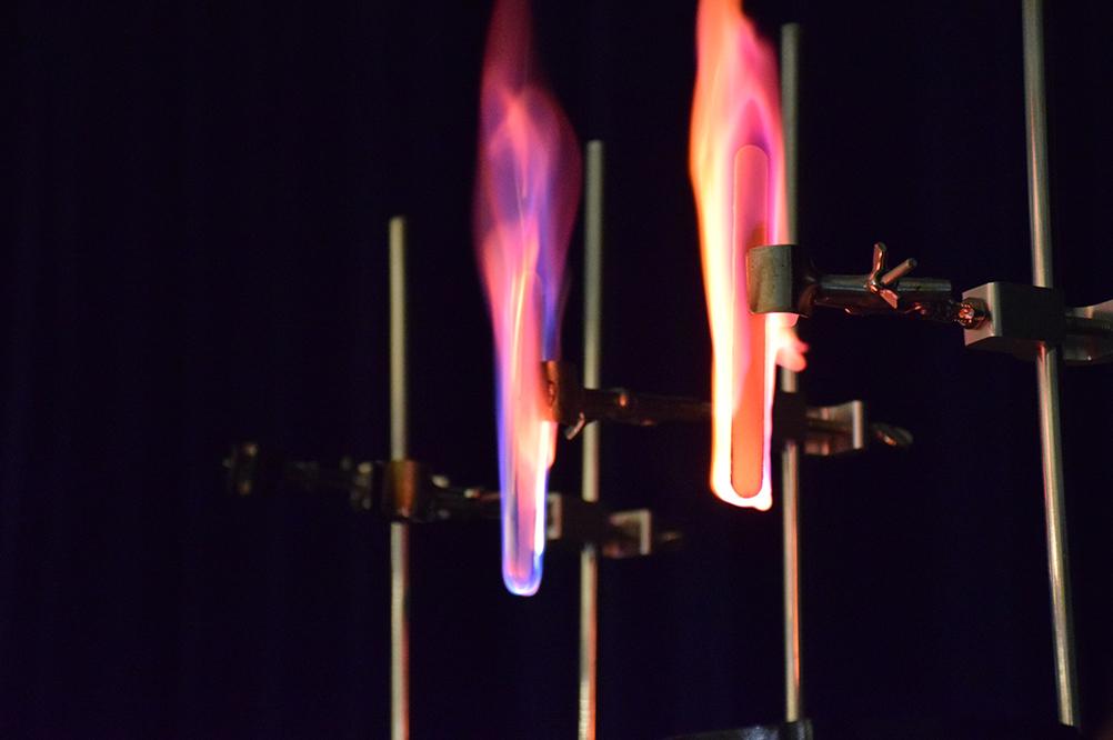 Fire rainbow