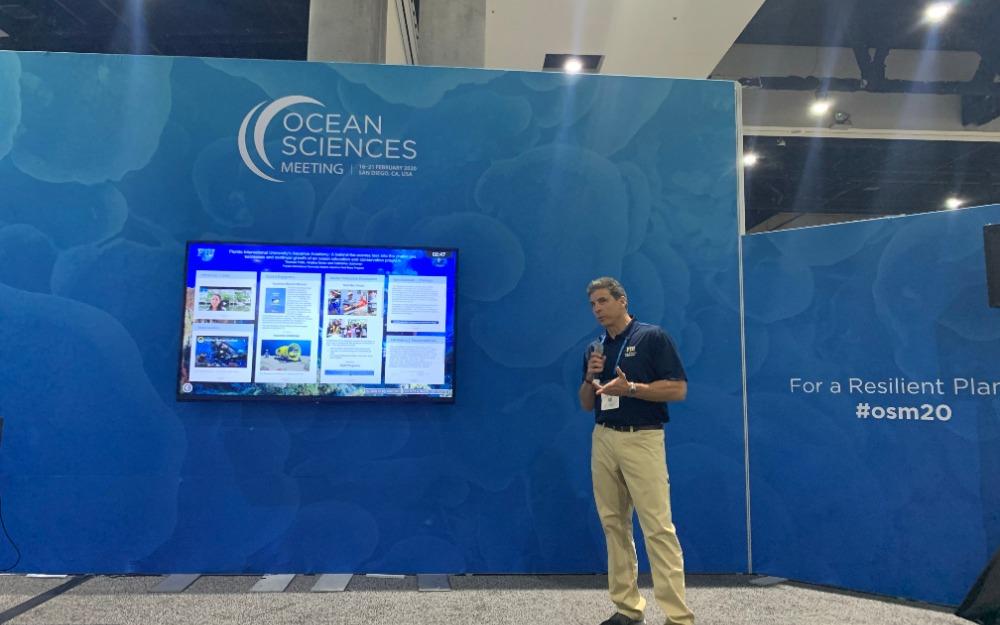 Presenting at Ocean Science Meeting