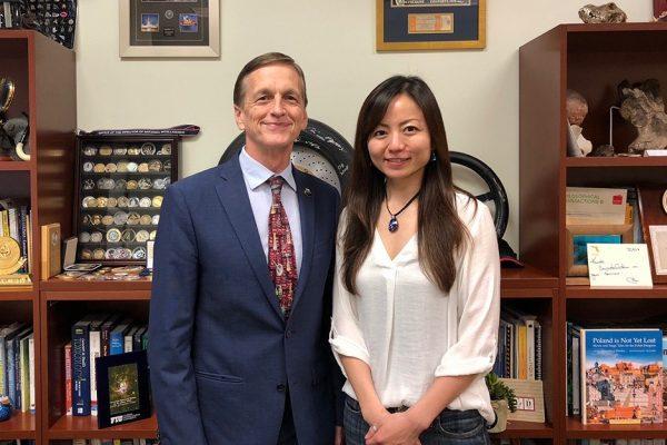 Chemistry alumna turned toxicology expert