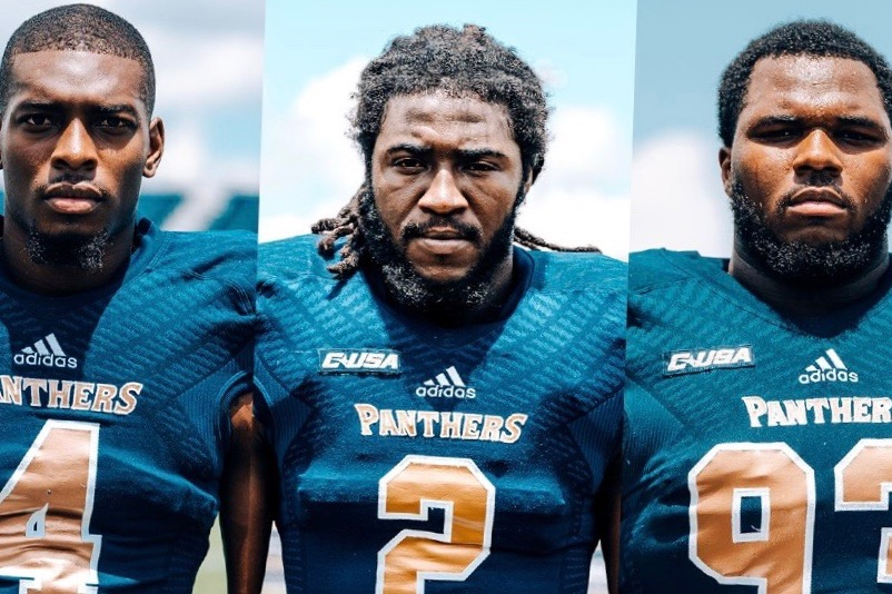 FIU football players