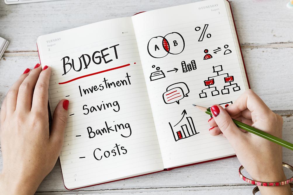Budget notebook
