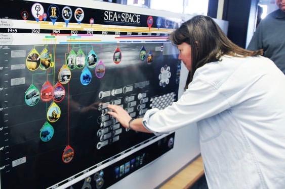 Former NEEMO aquanaut, NASA astronaut visits Aquarius