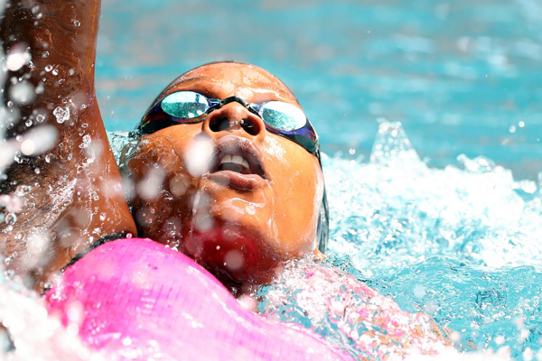 It's 2020 and alumna Naomi Ruele is still debunking myths about Black swimmers