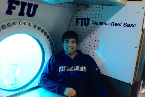 FIU@Home: Discover Aquanaut Chris Lopes