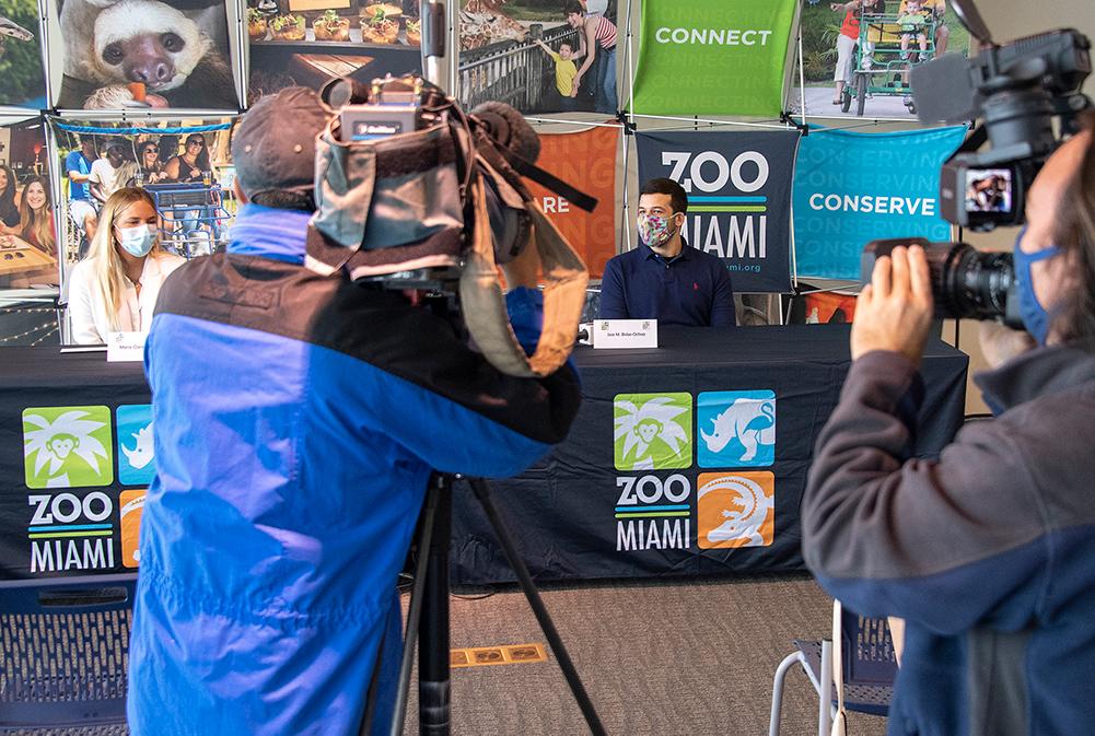 Jose speaking to media