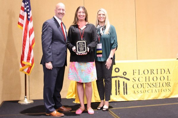 FIU professor honored with FSCA's School Counselor Advocate Award