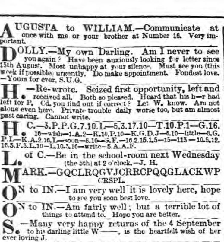 Evening Standard Sept. 4, 1888