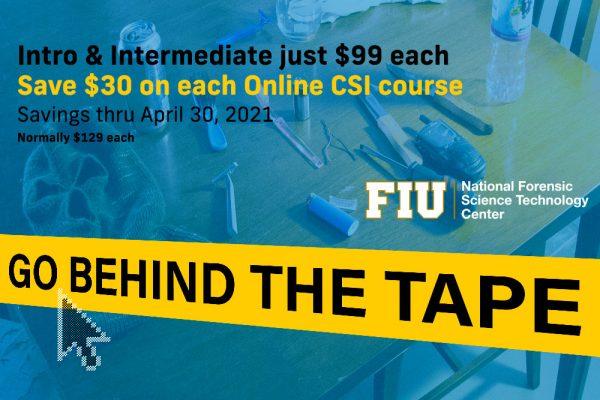 NFSTC@FIU online course sale