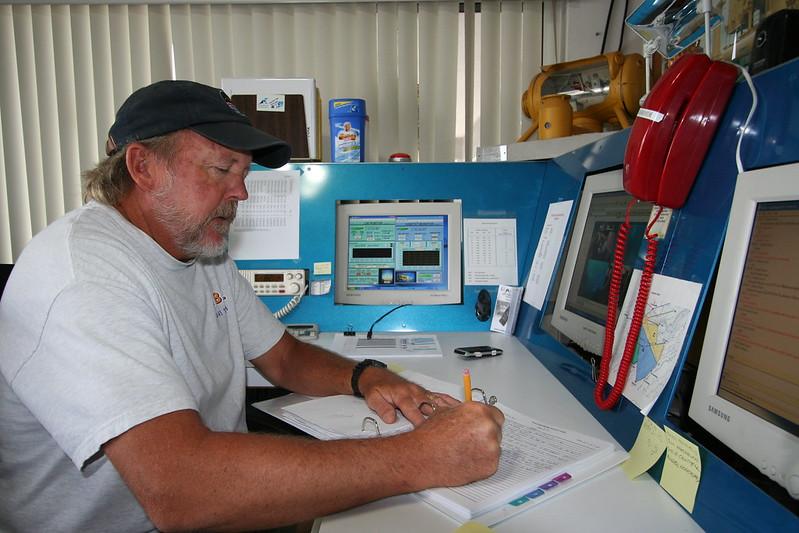 Mark Hulsbeck writing