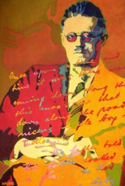 Abstract Portrait of James Joyce