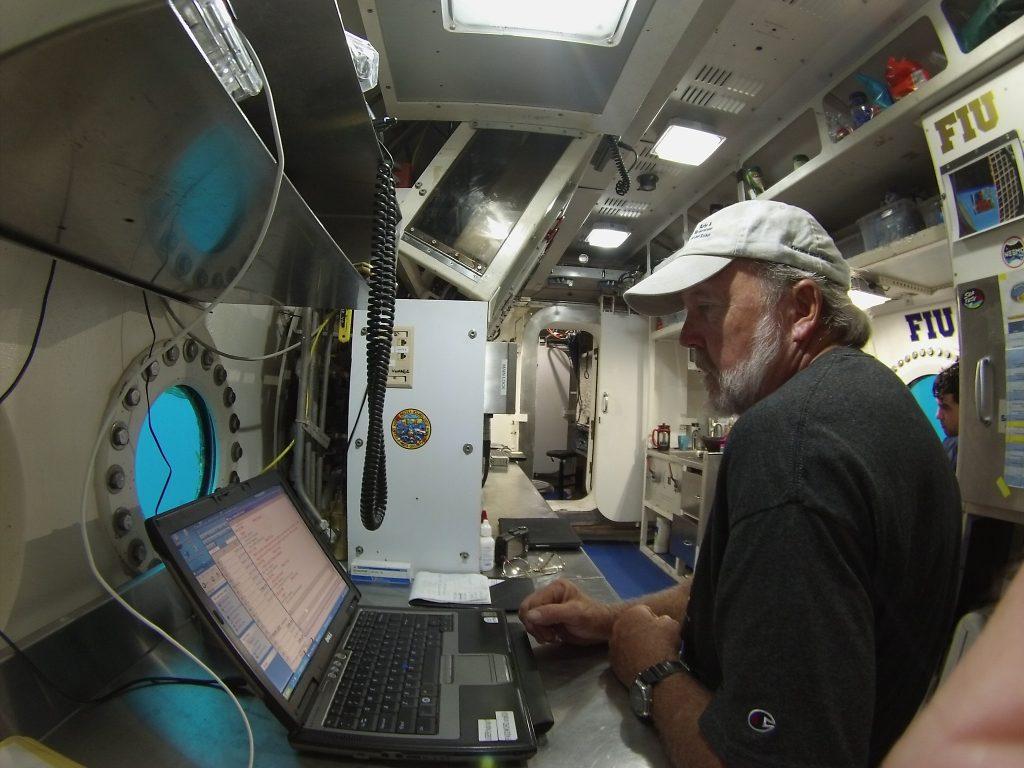 Mark Hulsbeck at work