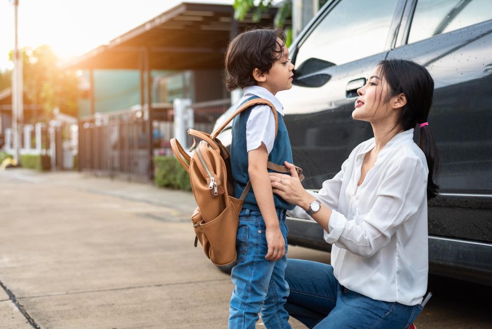 sending kid to school