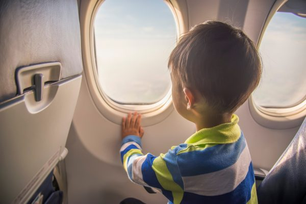 Survival guide for flying with children