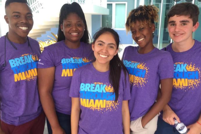 Breakthrough Miami Students